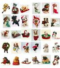 Hallmark Ornament Puppy Love Series Choice With Box Dog Pup