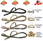 Military Tactical Dog Training Bungee Leash Control Handle W/ Quick Release USA