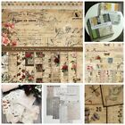 4-14PCS Vintage Paper Pad Scrapbooking DIY Planner Card Junk Journal Album Craft
