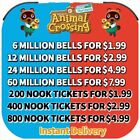 Animal Crossing:New Horizons Bells, Nook Miles Tickets,Fast Delivery