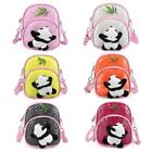 Kids Cute Cartoon Panda Backpack Sequins Schoolbags Shoulder Crossbody Bag