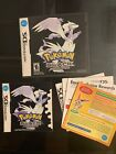 Nintendo DS Pokemon Authentic Cases And Manual ONLY No Games