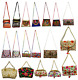 Lot 10pc Indian Women Sling Clutch Hippie Party Shopping Purse Casual Small Bag photo