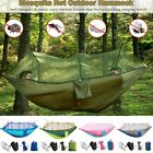 Camping Hammock with Mosquito Net Tent 2 Person Hanging Bed Swing Chair Outdoor