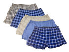 5-Pack George Men's Woven Boxers Shorts