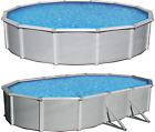 "Samoan 52"" Tall Steel Wall Above Ground Pool Kit plus Starter Package"