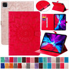 """Case For iPad Air 4th Generation 10.9"""" 2020 Leather Wallet Stand Flip Cover New"""