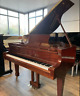 More images of Steigerman 143 walnut baby grand piano  Belfast pianos  