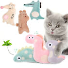 Interactive Plush Cat Toys Kitten Chewing Toys Cat Claws Thumb Bite Pet Supply