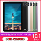 Android 10.0 Pad 8+256g Tablet 10.1 Inch With Triple Camera Wifi Gps Dual Sim