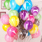 """10Pcs/Lot Marble Agate Latex 10"""" Balloon Party Birthday Decoration Baby Shows"""