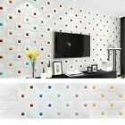 Foam 3d Self Adhesive Removable Decal Home Decoration Wall Sticker Tile Brick