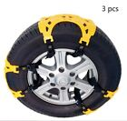 Car Tire Snow Chains Anti-Skid Emergency Exterior Winter Traction SUV Truck Kits