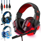 Gaming Headset W/ Mic XBOX One PS4 PS5 Nintendo PC Headphones Microphone Bass