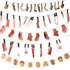 Halloween Banner Party Decorations Supplies Bloody Garland Halloween Party