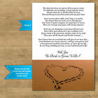 Wedding Cash Money Voucher Request Poems For Invites Options Beach Heart In Sand