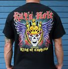 Rat's Hole King of Customs with crowned skull & wings