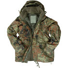 ECWCS ARMY JACKET COMBAT MENS SMOCK HOODED PARKA + FLEECE FLECKTARN CAMO S-3XL