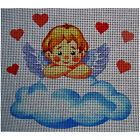 "Needlepoint canvas ""Valentine Angel - Cupid"""