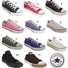 JUNIORS ALL STAR CHUCK TAYLOR CT LOW TRAINERS SZ 10 - 2