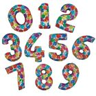 """41"""" COLOURFUL MEGA FOIL BALLOON - NUMBER 0-9 AVAILABLE"""
