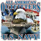 "Military "" U.S. NAVY "" 50/50 Gildan/Jerzees T SHIRT"