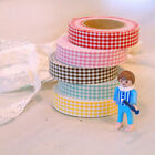 Roll Decoration Tape Sticker_e2 Fabric Tape_Mini Check