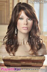 Vintage Retro Glamour Wig - COLOUR CHOICES! Brown Black Blonde Cappucino Caramel