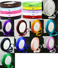 25 Yard Roll of Satin Ribbon - 6mm wide  - choose from 20 colours - UK Seller