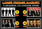 WESTLIFE SHANE FILAN KIAN EGAN NICKY MARK f49m LARGE FRIDGE MAGNET CHOICE OF 4