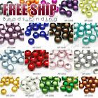 40pcs Acrylic round beads wholesale FREE SHIP choose findings fit DIY bracelet