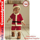 Set Child Baby Kids Christmas Santa Claus Costume Outfit (with size guide)
