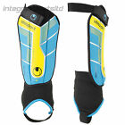 UHLSPORT Shin Pads -New 'UHL Tri-Safe Flex' Flexible Plate-Based Shinguard, S-XL