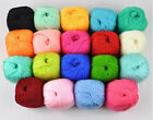 1x50g Cashmere Silk Cotton Baby Yarn Lot,19 colors to choose FREE SHIPPING!