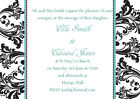Personalised Wedding Invitations Invites Any Colour