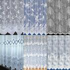 Scalloped White Net Curtains Special Drop Sizes 4 Designs to Choose From
