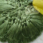 Olive 12cm Tassel Craft Sewing Curtains Trimming Embellishment T9