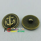 Brass Anchor 22mm  Metal Buttons Sewing Collectable Craft MB008