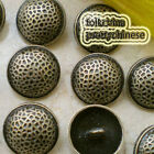 Brass Magic Flaw 22mm  Metal Buttons Sewing Collectable Craft MB014