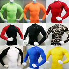 New Mens Kompression Under Base Layer Top Tight Long Sleeve T-Shirts Collection2