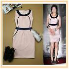 Elegant Stunning Contrast Celebrity Design One Piece Pink Dream Dress S M L XL