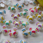 Assorted Doll 17mm Plastic Buttons Sewing Scrapbooking Cardmaking Craft GDB