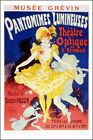Poster/Affiche. Jules Chéret. Pantomimes lumineuses. Neuf.