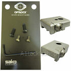 Optilock Base For Sako/Tikka Rings/Mounts 75/85/T3/TRG etc - Stainless