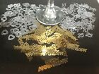 2x Bags 25th Silver Anniversary Party Table Decoration Sprinkles Foil Confetti