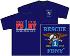 FDNY Rescue 1 Tee Manhattan  (Officially Licensed) - NYC Firestore