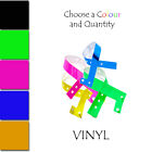 SPECIAL OFFER Wristbands Vinyl Wristbands ecurity Bands FREE P&P Various QTY