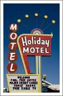 Poster/Affiche. Photo. Holiday Motel, Las Vegas, Nevada. Neuf.