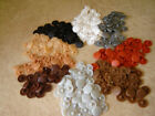 50 +10 Free SCREW COVER CAPS POZI HEAD *Various Colours*
