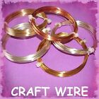 JEWELLERY MAKING CRAFT WIRE TIARAS FINDINGS  SILVER PLATED BRASS GOLD COPPER